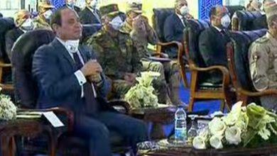 صورة الرئيس السيسي: لست مع الحظر الكامل ويجب تخفيض أعداد العاملين دون المساس بالمرتبات