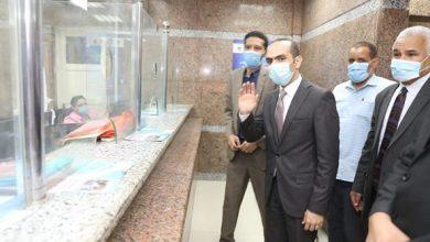 """صورة بالصور: """"القاضي"""" يتفقد المراكز التكنولوجية لخدمة المواطنين بمركزي جرجا والمنشاة بسوهاج"""